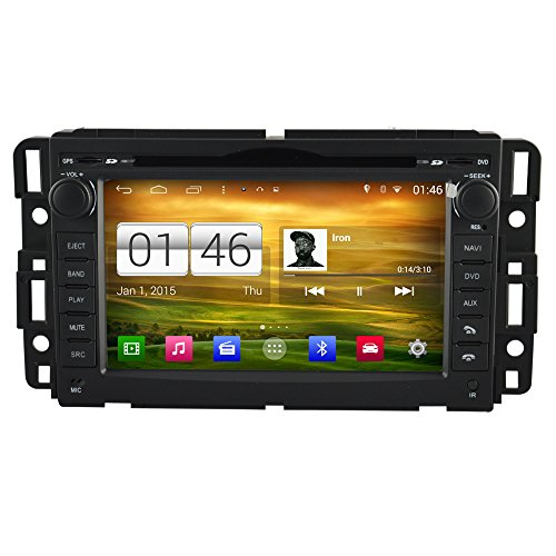 Witson Quad Core 16GB Android 4.4.4 for GMC (07-12 Acadia,sierra and Yukon, 10-12 Savanna Van, 08-10 Hummer H2, 07-10 Saturn Outlook and 08-10 Vue) In Dash Touch Screen Car DVD Player GPS Navigation Stereo with WiFi Bluetooth Steering Wheel Control Capacitive 1024600 HD Multi-touch Screen (Hand Hummer compare prices)