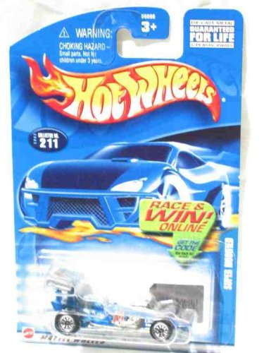 #2002-211 Super Modified New HW Logo Collectible Collector Car Mattel Hot Wheels