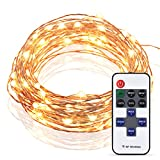 Cymas [Upgraded] LED Starry String Lights - Copper Wire Light Decorative Lighting (33 Feet - 100 LEDs)