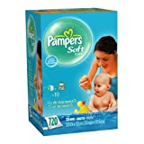 Pampers Soft Care Scented Wipes, 720 Count