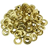 "50pc Quality Brass 1/2"" Grommets - Tarps, Canvas, Covers"
