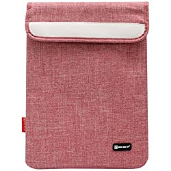 Sheng Beier 11inch Padded Light Weight Sleeve Bag for Apple iPad, Lenovo Tab 2 A7-10, iBall Slide and other 10in Tablets (Red)