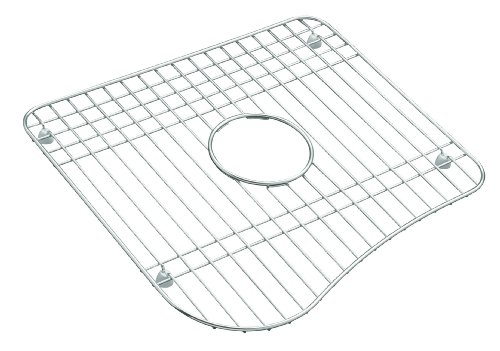 KOHLER K-3122-ST Stainless Steel Large Bottom Basin Rack, Fits Staccato Kitchen Sink K-3361, Stainless Steel
