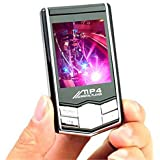 AnMount Mp4 Player Mp3 Players New 16gb Slim LCD Screen PMP Video Media Fm Radio