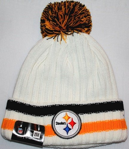 Pittsburgh Steelers New Era NFL Yester-Year Cuffed Knit Hat