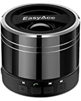 EasyAcc Mini Portable Rechargeable Bluetooth Speaker with Microphone for Tablet/Laptops - Titanium Black