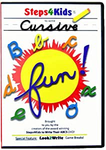 Steps4kids to Write Cursive