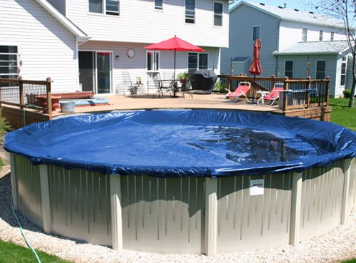 33 Round Deluxe Above Ground Swimming Pool Winter Cover 10