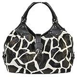 Giraffe Striped Print Handbag