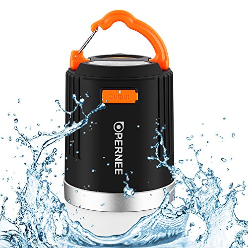 Waterproof-Camping-Lantern-OPERNEE-Rechargeable-LED-Camping-Light-Portable-Camping-Flashlight-and-10400mAh-Power-Bank