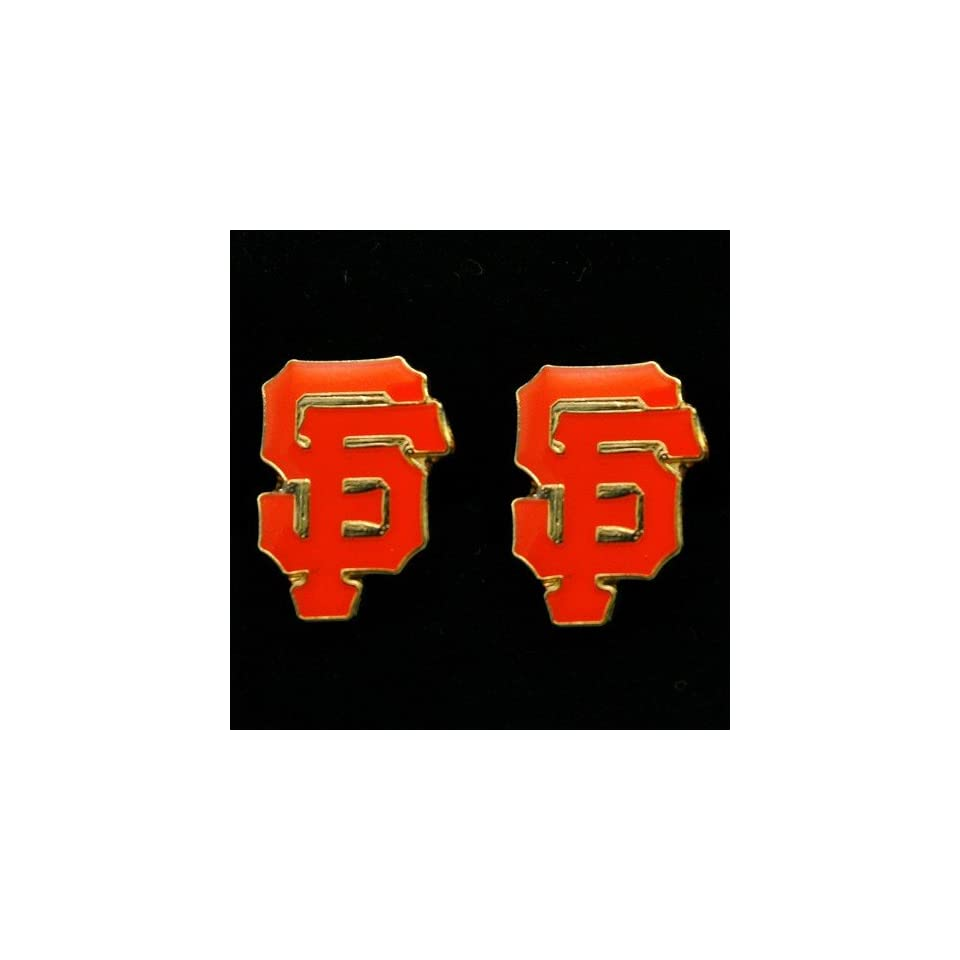 MLB San Francisco Giants Team Logo Post Earrings