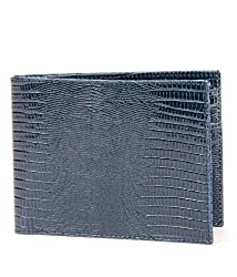 Walletsnbags Rl Navy Blue Money Clip Wallet