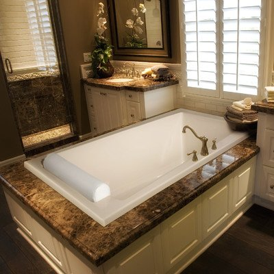 Designer 72 X 42 Riley Bathtub With Combo System Finish BoneFr
