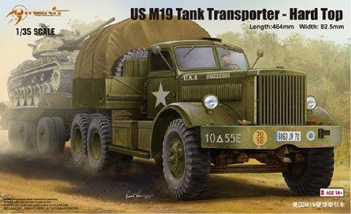 MRT63501 1:35 Merit US M19 Tank Transporter with Hard Top Cab MODEL KIT by Merit International (Tank Transporter compare prices)
