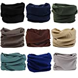 Neck Gaiter Headwear Headband Head Wrap Scarf Mask Neck/ Ear Warmers Headbands perfect for Winter Fishing, Hiking, Running, Motorcycle etc& Daily Wear for Men and Women