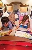 Kid Shark Blanket Gray&Deep Blue Summer Squilt Sleeping Bag (Age 3-12)