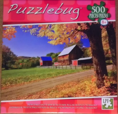 Puzzlebug - New England Farm - 500 Piece