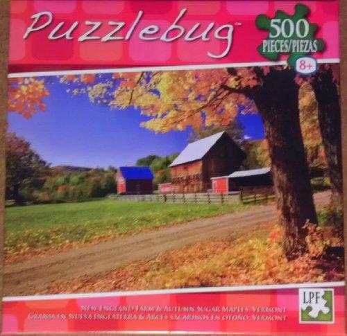 Puzzlebug - New England Farm - 500 Piece