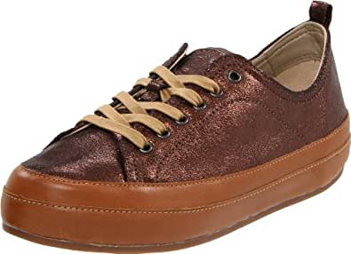 FitFlop Women's Luxe Fashion Sneaker,Chocolate Bronze,7 M US
