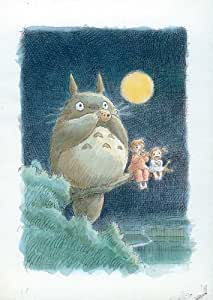 My Neighbor Totoro Movie Poster Print