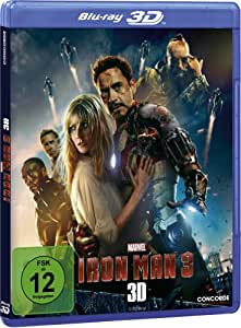 Iron Man 3 (Lenticular-Cover) (+ 2D-Version) [Blu-ray 3D] [Limited Edition]