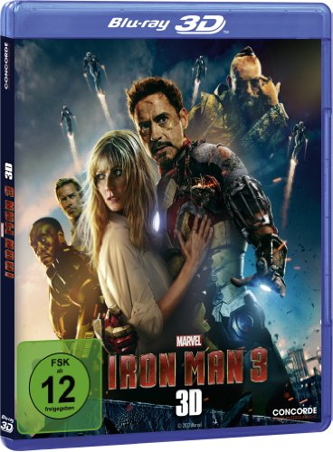 Iron Man 3  (inkl. 2D-Version ) [Blu-ray 3D] [Limited Edition]