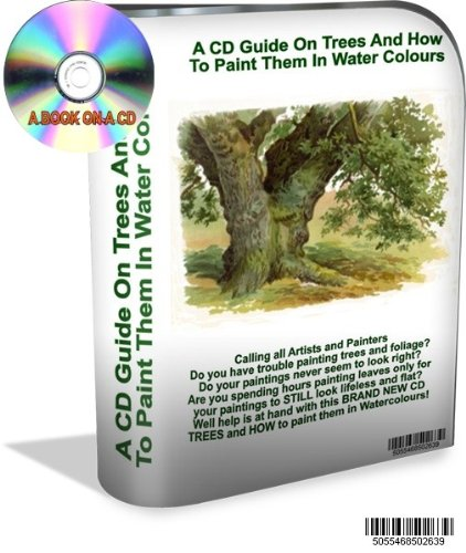 A CD Guide On Trees And How To Paint Them In Water Colours - Watercolours