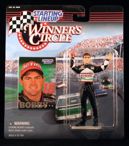 BOBBY LABONTE / INTERSTATE BATTERIES 1998 Winner's Circle Starting Line NASCAR Series Action Figure & Exclusive Collector Trading Card