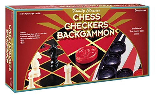 PRESSMAN TOY Chess/Checkers/Backgammon Set - 1