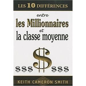 Les 10 différences entre les millionnaires et la classe moyenne