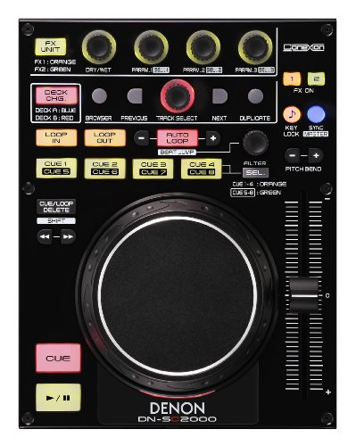 Denon DJ DN-SC2000 Single 2 Deck MIDI Controller