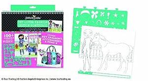 Fashion Angels Pet Lovers Fashion Full Size Sketch Portfolio