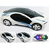 3D LED Light Car Omni Directional Musical Fun Car