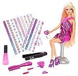 Barbie Hair Tattoo Doll