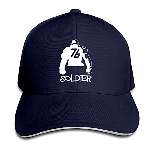 PTCY Ow Soldier #76 Sandwich Peak Sun Protection Cap Snapback Hat Navy (Snow Peak Travel Mug compare prices)