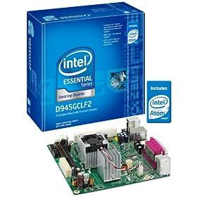Intel D945GCLF2 Essential Series Mini-ITX DDR2 667 Intel Graphics Integrated Atom Processor Desktop Board