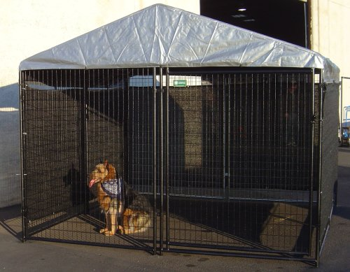 Large Dog Kennels Costco : Dog kennel shade wind screen weather guard extra large