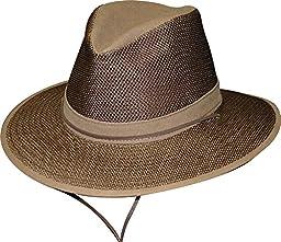 Henschel Aussie Packable Mesh Breezer Hat (Earth, XX-Large)