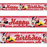 15ft Minnie Mouse Polka Dot Birthday Banner