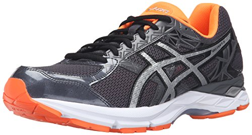 asics-mens-gel-exalt-3-running-shoe-dark-grey-silver-hot-orange-11-m-us