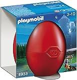 Playmobil - 4933 - Jeu de construction - OEuf 2012 Chevalier du Faucon avec canon
