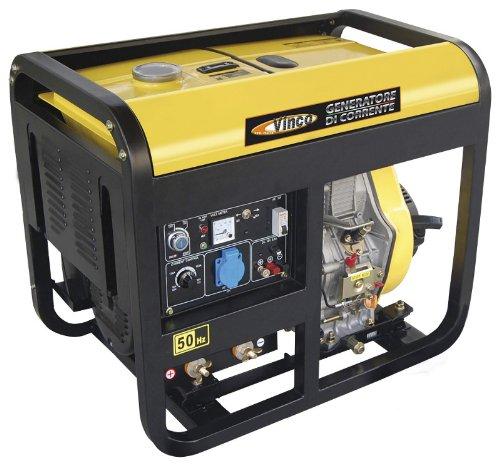Generatore di corrente diesel vinco 5 0 kw vendita for Generatore di corrente lidl