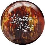 Brunswick ストライクキング レッド・ゴールドパール 15ポンド ボウリング ボール