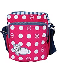 Super Drool Pink Dancing Polkas Sling Bag