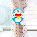 Excellent Doraemon Shape Curtain Tieback with Cutiest Design Great 20cm in Length (Squint Eyes)