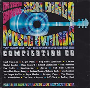 The Tenth Annual San Diego Music Awards