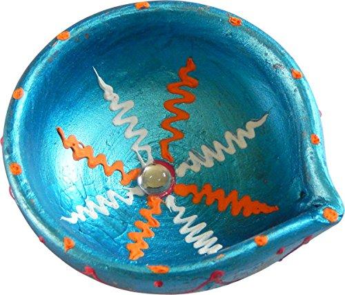Diwali Diya-Set Of 10 Decorative Diyas (2.5in Dia Each)