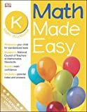 Math Made Easy: Kindergarten Workbook (Math Made Easy)