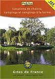 echange, troc Gîtes de France - Locations de chalets, campings et campings à la ferme
