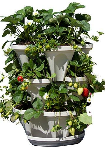mr-stacky-self-watering-3-tier-stackable-garden-vertical-planter-set-stone